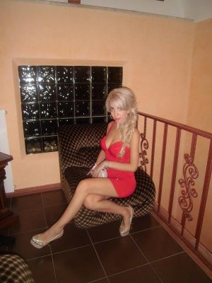 Blondy,  romantic photo